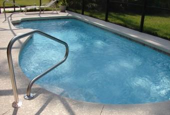 tømning af badebassin og pool