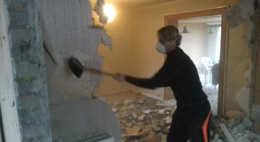 nedrivning af væg kræver typisk en byggetilladelse