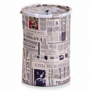 vasketøjskurv-med-avisprint