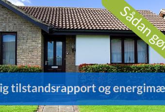 billig tilstandsrapport og energimærke
