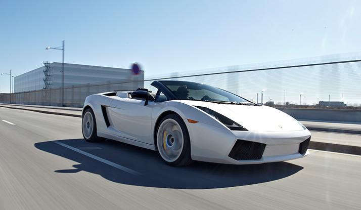 Lamborghini på bane