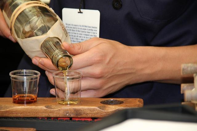 whiskysmagning hos Braunstein Bryghus