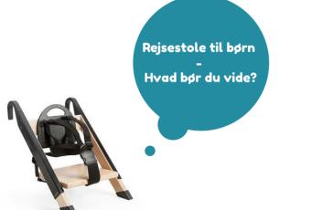 rejsestol til børn