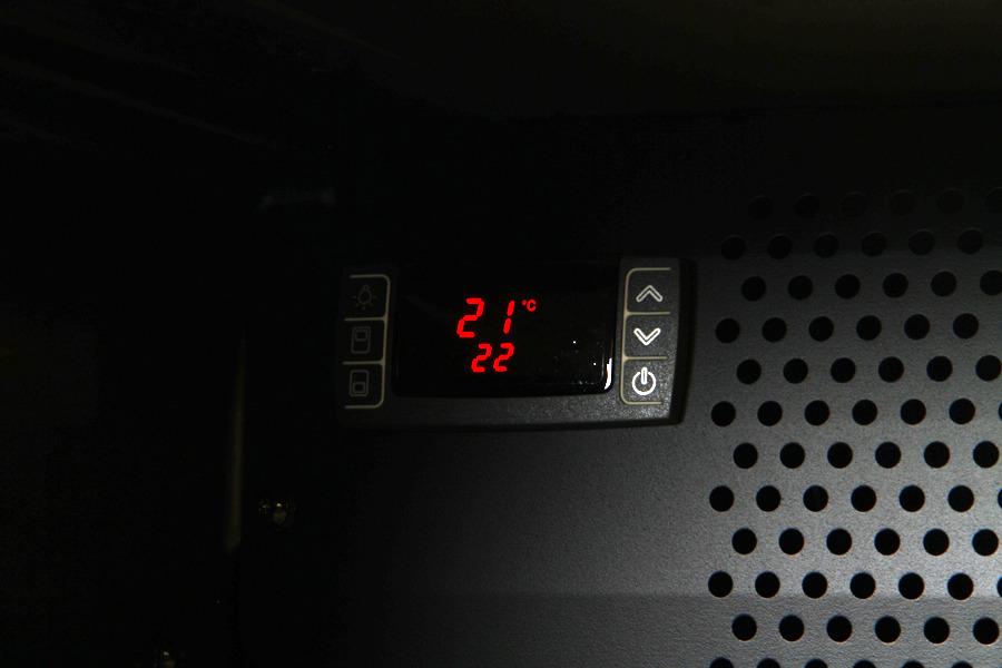 Bosch KSW 38940 er udstyret med en smart og flot temperaturmåler.