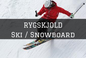 rygskjold ski og snowboard