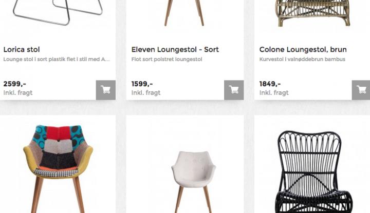loungestole fra unoliving.com