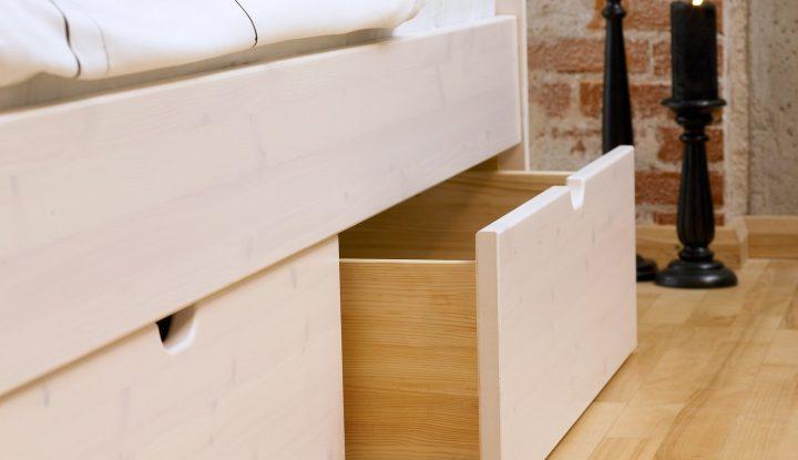 sengeramme med opbevaring se bedste priser og tilbud her. Black Bedroom Furniture Sets. Home Design Ideas