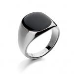 Maskulin Sølv Ring