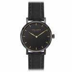 LW44 · Dameur · All black læderrem
