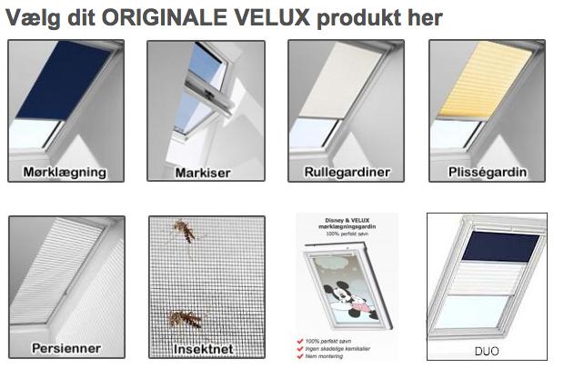 Ultra Billige Velux gardiner til lave priser - Køb med prisgaranti DD69